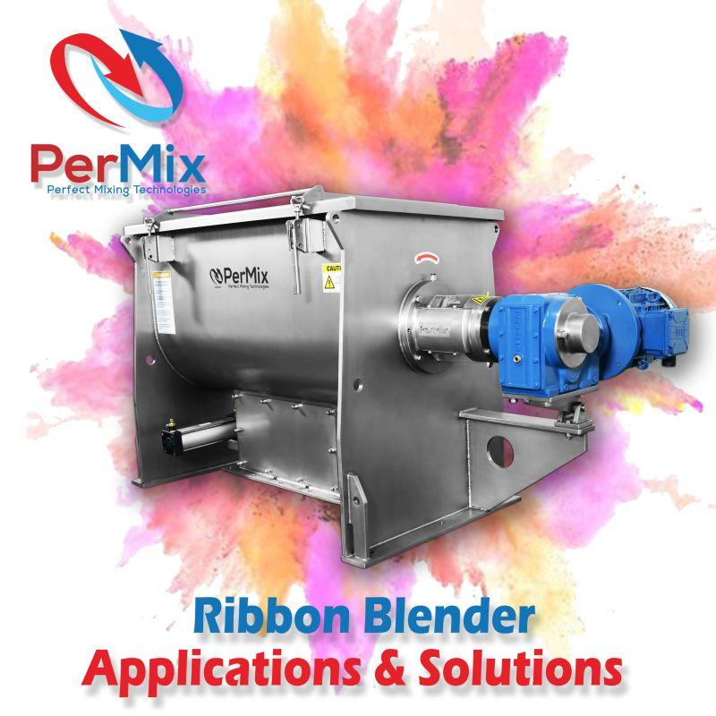 PerMix Ribbon Mixer